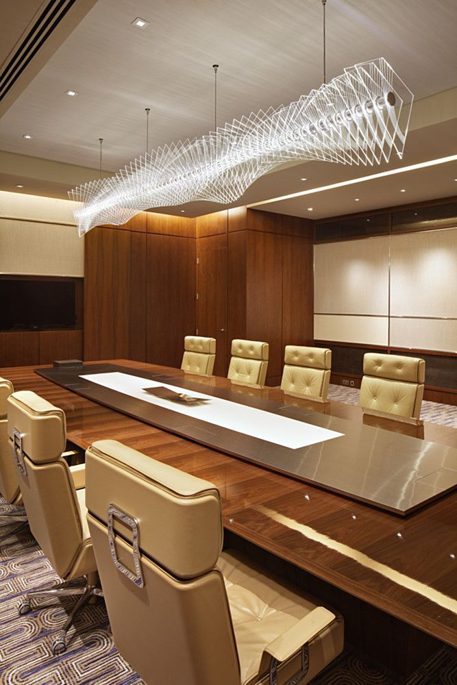 Conference Room Interior Design: Rosewood - Lasvit .. Over The Dining Table?