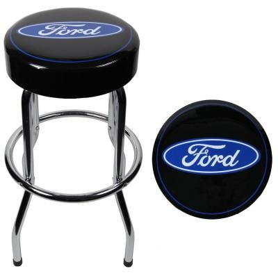 Ford Garage Stool-004751R01 at The Home Depot 44.97