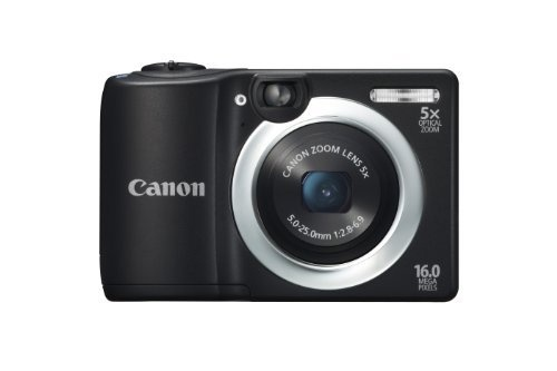 Canon PowerShot A1400 16.0 MP Digital Camera with 5x Digital Image Stabilized Zoom 28mm Wide-Angle Lens and 720p HD Video Recording (Black) by Canon, http://www.amazon.com/dp/B00AWYMXZY/ref=cm_sw_r_pi_dp_5nrwrb00FFEVQ