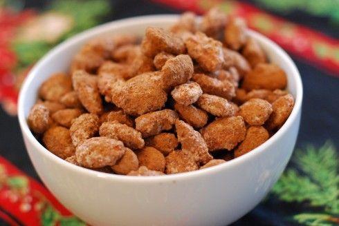Homemade Cocoa Almonds!Easy Gift, Almond Recipe, Gift Ideas, Homemade Gifts, Cocoa Almond, Christmas Treats, Naptime Webisod, Almond Naptime, Naptime Chefs