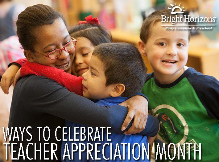 Ways to Celebrate Teacher Appreciation Month