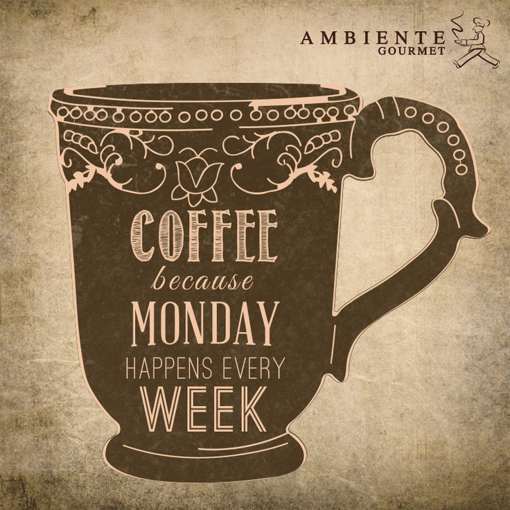 Nada como un buen café para los lunes #mondaycoffee