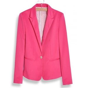 WEDNESDAY - LUCY BLAZER - PINK BLACK FRIDAY DEAL!!!  40% OFF! (VALID ONLY 11/26/14)  YOU WILL NEED TO USE PROMO CODE PROVIDED