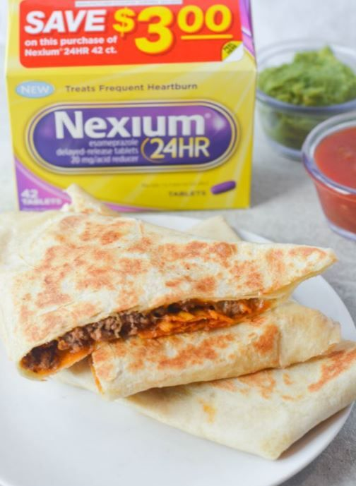 Tackle Spicy Grilled Stuffed Nachos with Nexium 24HR from @walmart!   #ad #tailgreatness