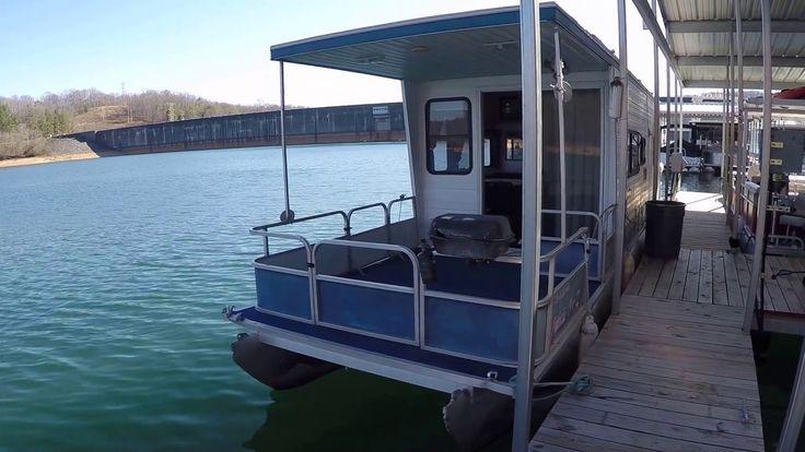 2000 Aqua Chalet 36 Pontoon Houseboat For Sale on Norris Lake TN