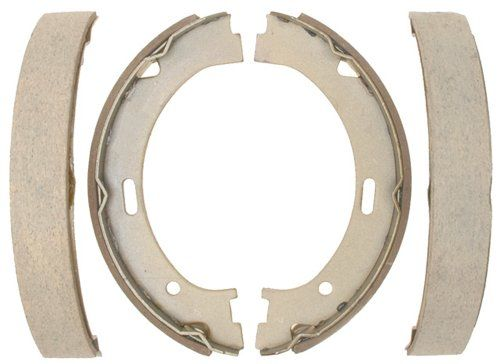 Raybestos 803SG Service Grade Parking Brake Shoe Set - Drum in Hat [Automotive]