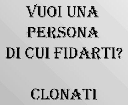 @ Fidarsi clonare sarcasmo te stesso fidati