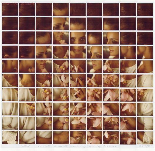 by Maurizio Galimberti #mosaic  #photography #Polaroid