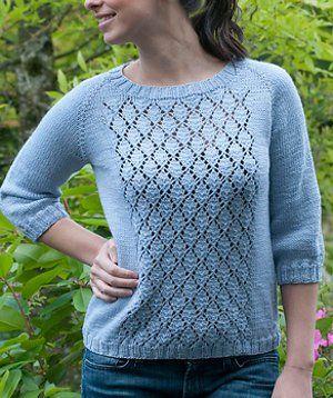 Favorite Summer Sweater | AllFreeKnitting.com