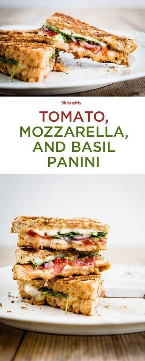 Super delicious, crisp Tomato, Mozzarella, and Basil Panini. Could not recommend…