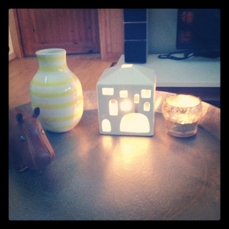 Living room - Züny animal, kähler, light, vase