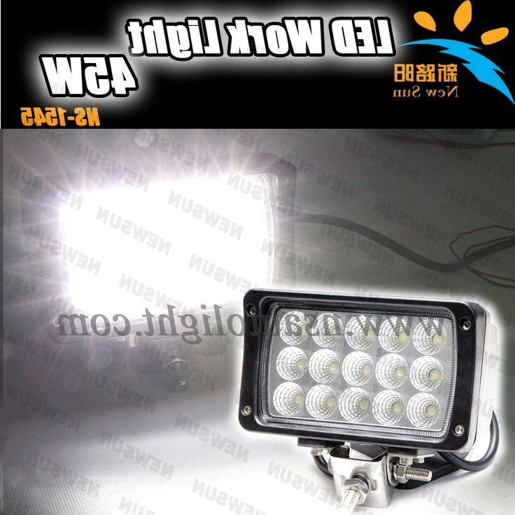 36.00$  Buy here - https://alitems.com/g/1e8d114494b01f4c715516525dc3e8/?i=5&ulp=https%3A%2F%2Fwww.aliexpress.com%2Fitem%2F45W-LED-Work-Light-Spot-Flood-beam-15PCS-3W-45W-work-light-for-ATV-UTV-4x4%2F1859322997.html - 45W LED Work Light Spot/Flood beam 15PCS*3W 45W work light for ATV UTV 4x4 Off Road Car/Mining led driving work light led 12V