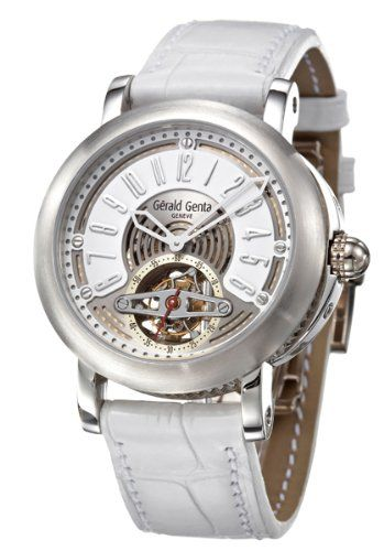 Gerald Genta Arena Tourbillon Men's Automatic Watch ATR-X-75-918-CD-BD | Your #1 Source for Watches and Accessories