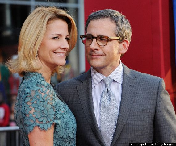 Steve Carell and Nancy Walls married since August 1995.