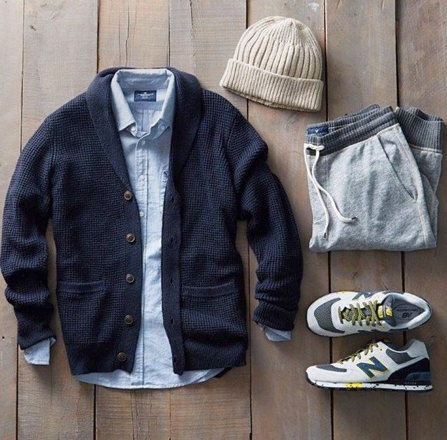 Outfit grid - Autumn style