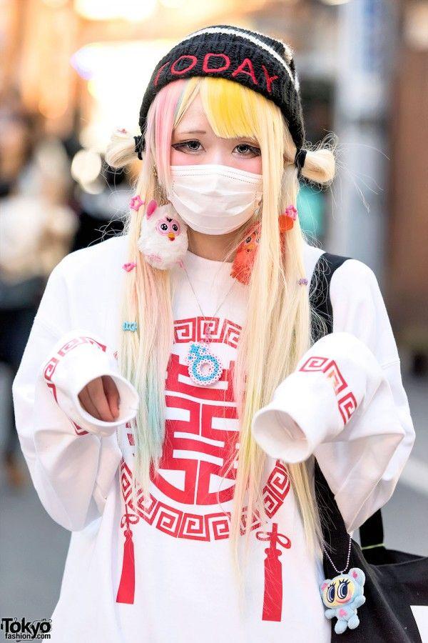 Street fashion style, Tokyo
