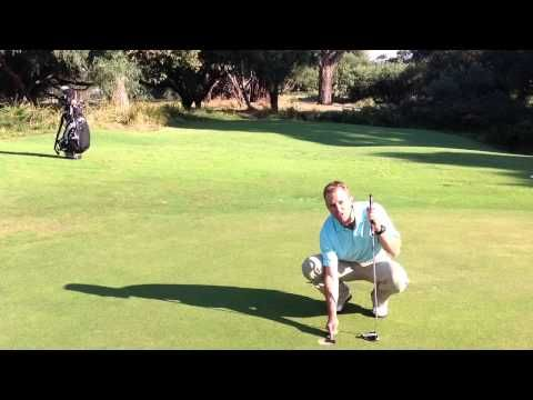 Golf Putting Clock Drill, Golf Drill How To Set Up, Golf Techniques, Gol...