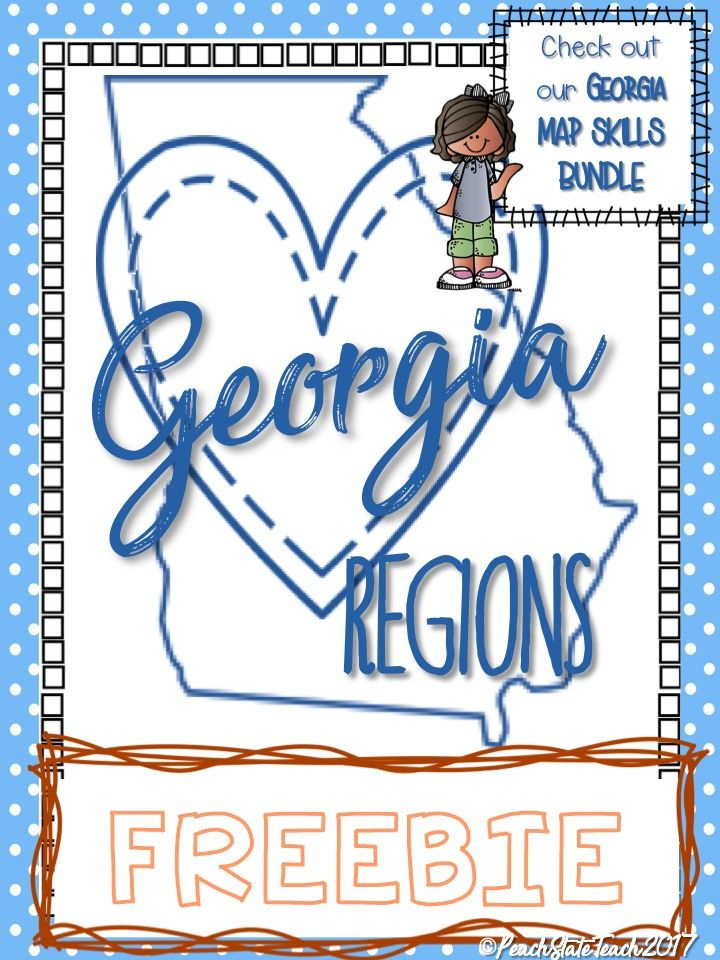 **FREEBIE** Students will create their own map of Georgia's regions, creating patterns to fill each region based on its features. Students will then provide an explanation for their choice which incorporates their knowledge of Georgia's regions.   This FREE activity will also guide students through practicing basic map skills such as labeling a compass rose with cardinal and intermediate directions, and creating their own map key to correspond to their Georgia Regions Map.  GA 2nd Grade…
