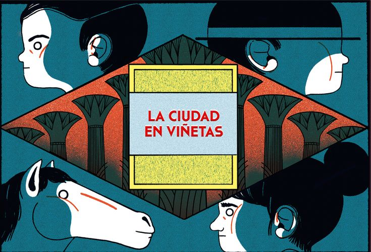 """La Ciudad en Viñetas A 4 pages long comic for the town hall of Madrid. The 4 pages relate a short story about this little boy called """"Rich Boy"""" who is basically a tyrant bastard. In this new adventure he will hunt the little man who was spying him from …"""