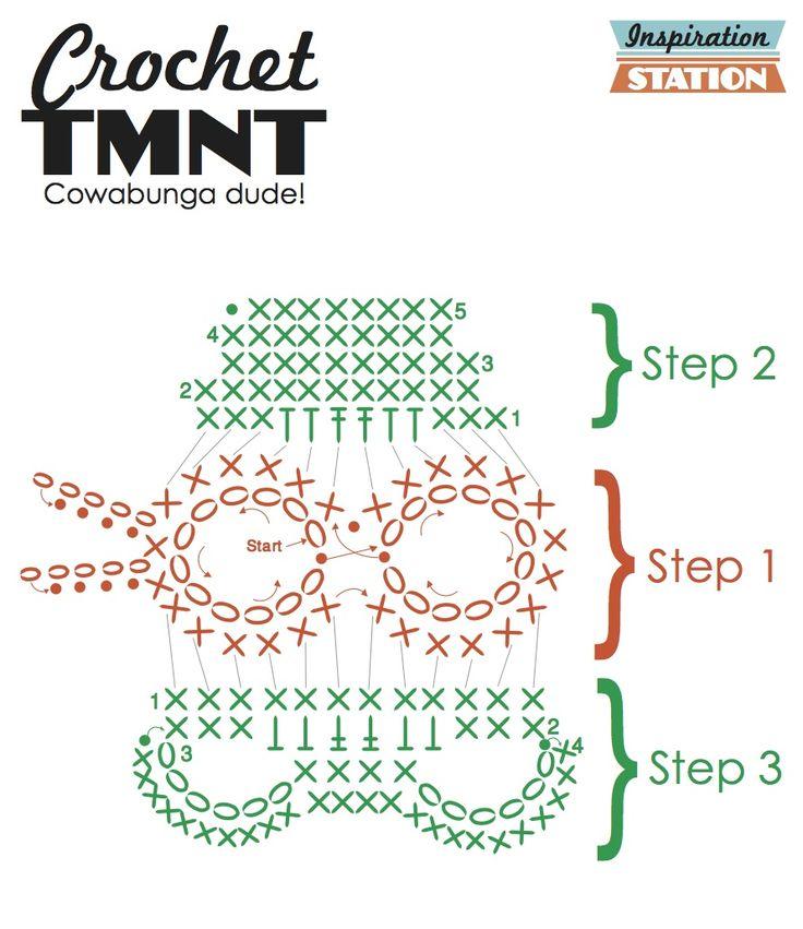 144 Best Turtle Images On Pinterest Crochet Ideas Crochet Hats