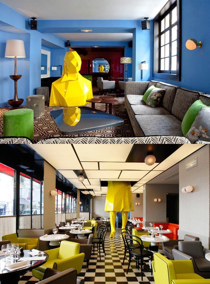 Germain Restaurant, Paris. Check this out! Wild!