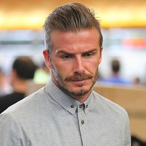 David Beckham Frisur Kurz Hair David Beckham Haircut David