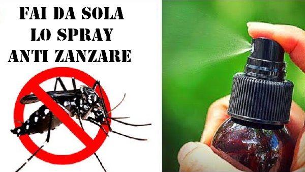 spray antizanzare