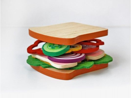 Lunch Play Set - Sandwich Set - Mocka NZ