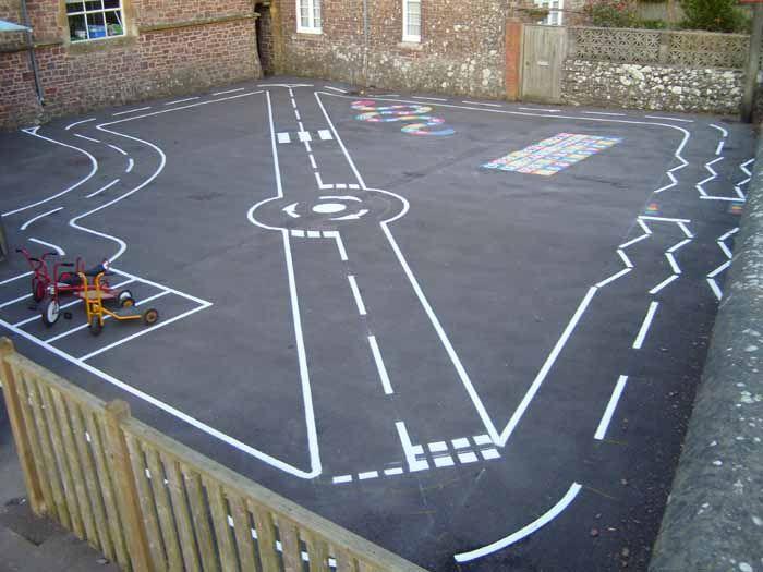 Line Art Hardwood Floors Ltd : Best playground painting ideas on pinterest