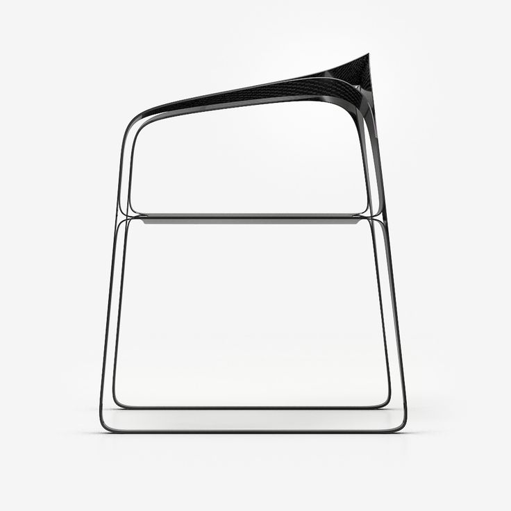 The Carbon Fibre Plooop Chair By Timothy Schreiber