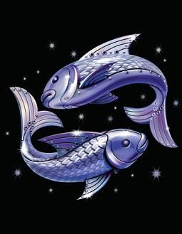 Pisces is the most intuitive of all zodiac signs, endowed with psychic instincts.  I knew that.