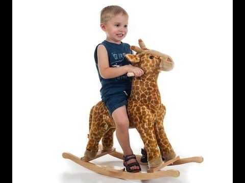 Happy Trails Giraffe Plush Rocking Animal - I like it