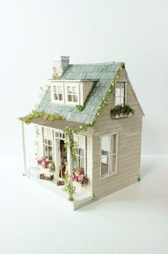 El viejo país casa casa de muñecas personalizada