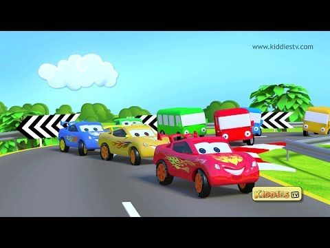 Wheels on the bus fun song with cars is an energy filled song for everyone. Buses and cars have fun throughout this fun filled song. | Wheels on the bus | Wheel on the bus | round and round | on the bus | nursery rhymes | kids song | parents | kindergarten | homeschool  | preschool | for kids | educational | kiddiestv