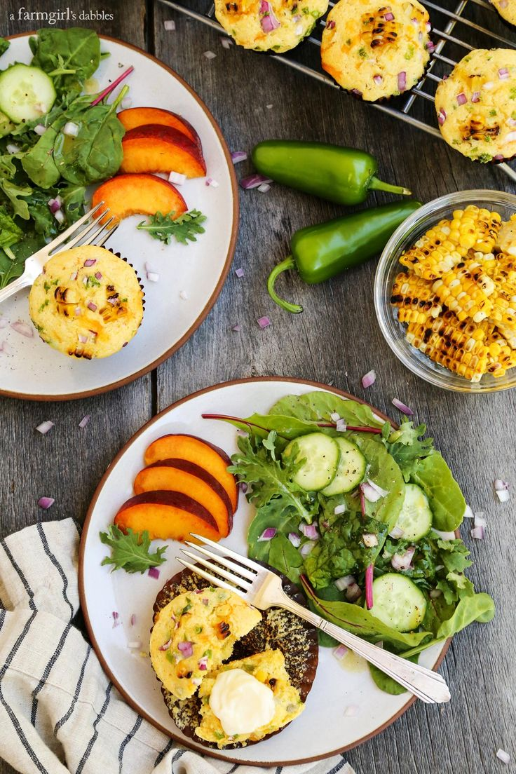 Jalapeño Grilled Sweet Corn Muffins | Recipe | Sweet corn ...