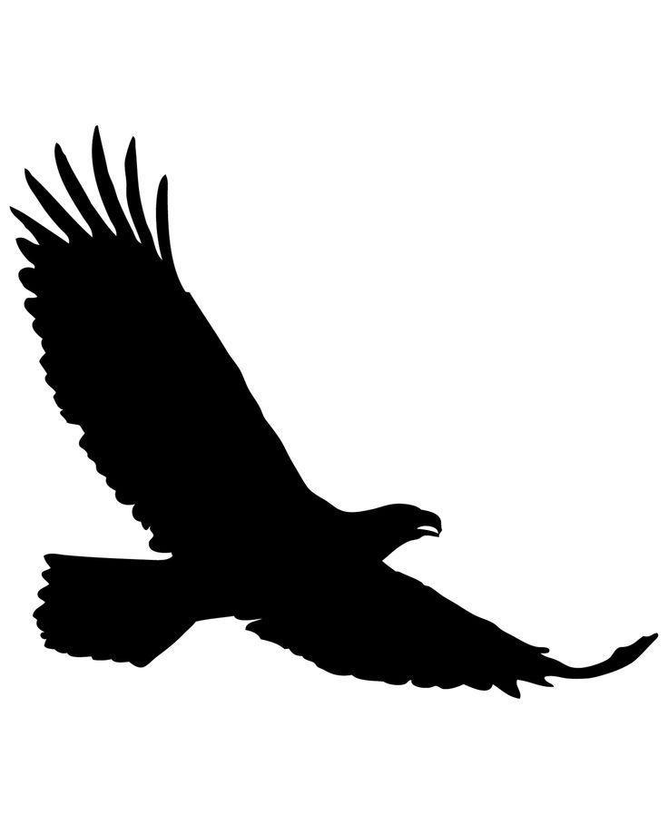 орел векторный рисунок уже