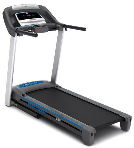 Horizon treadmills are all about one thing – quality. Quality suspension and deck systems to help protect your body; best-in-class motors that keep going strong for years to come; and meaningful, motivating programming to help you meet your goals. At Horizon, we carefully design each treadmill to give you the comfort, control and convenience you need to succeed. Horizon treadmills use large, heavy frames...