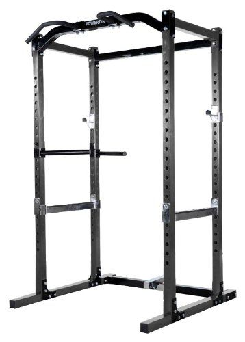 Powertec Power Rack For Safer Squats And Bench Press