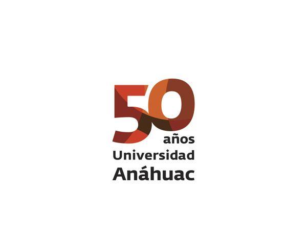 Logo 50 aniversario Universidad Anáhuac on Behance