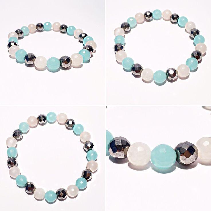 Love bracelet, gemstone bracelet