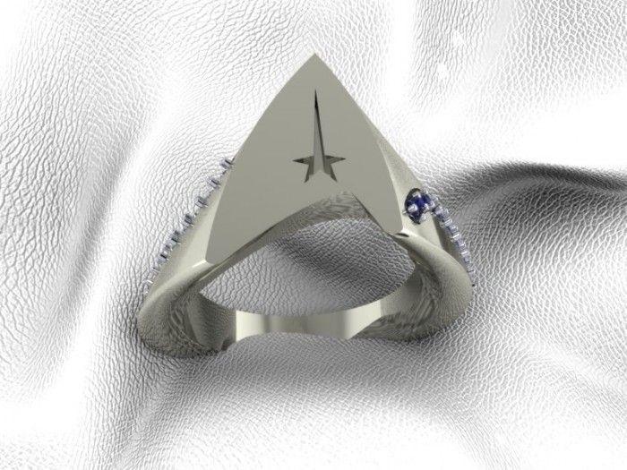 A Star Trek Officer Ring Fit For A Captain - Austin Moore