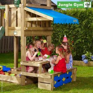 Jungle Gym Mini Picnic Module - Wooden Climbing Frames for Children : Wooden Climbing Frames for children