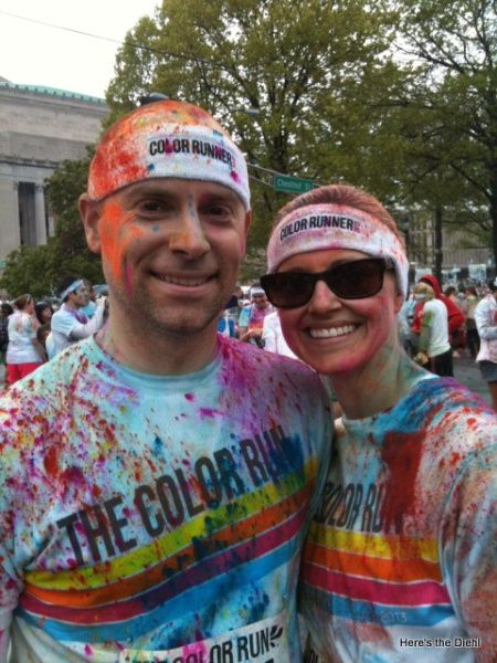 Jess!!!!!!   very very important!!!!!     Tips to get Color Run powder out of hair!