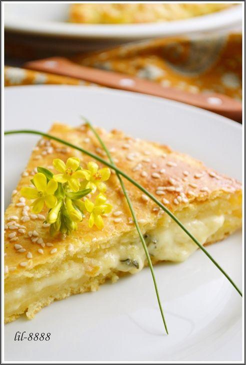 Лепешка из творожного теста с сыром. рецепт с фотографиями