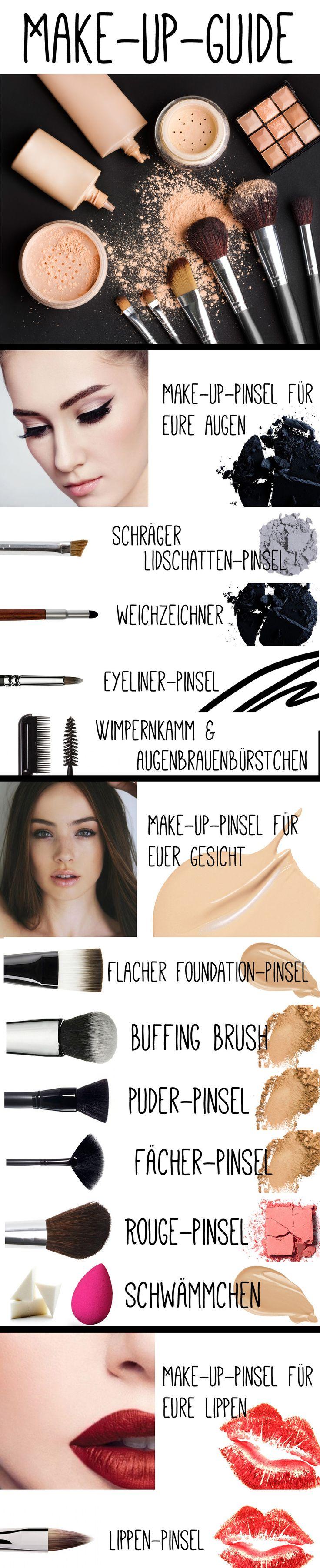 Werdet zum Make-up-Profi mit unserem Pinsel 1×1
