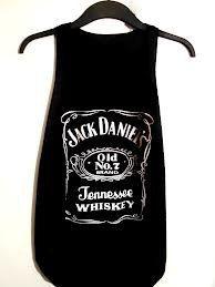 Jack Daniels tank top ladies vest one size fits all by Teashirtuk, £4.99