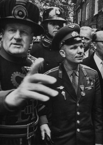 Yuri Gagarin, the first human in space (1961)