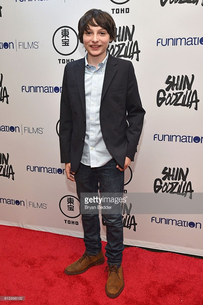 Actor Finn Wolfhard attends the 'Shin Godzilla' premiere presented by Funimation Films at AMC Empire 25n2016 New York Comic Con on October 5, 2016 in New York City.