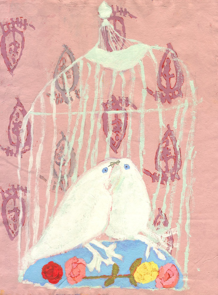 Lover birds by Molly Parks