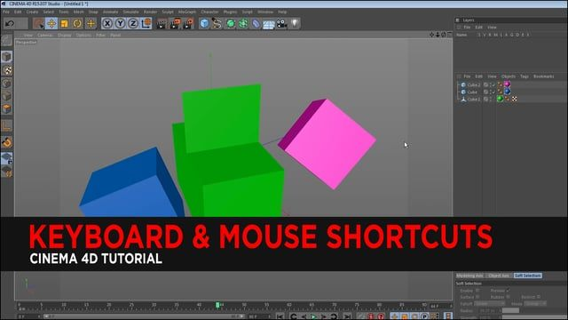 """In this tutorial, we show you very useful shortcuts in Cinema 4D. Any of these can be changed in """"Window , Customization , Customize Commands.""""  --Undo + Redo-- Ctrl+Z : Undo Scene  Ctrl+Y : Redo Scene  Ctrl+Shift+Z : Undo Viewport  Ctrl+Shift+Y : Redo Viewport  Ctrl+C or Hold Ctrl: Copy Ctrl+V : Paste   --Main Tools-- 9 : Live Selection Tool Right Bracket : Increase Brush Size Left Bracket : Decrease Brush Size 8 : Lasso Selection Tool E : Move Tool  T: Scale Tool R : Rotat..."""
